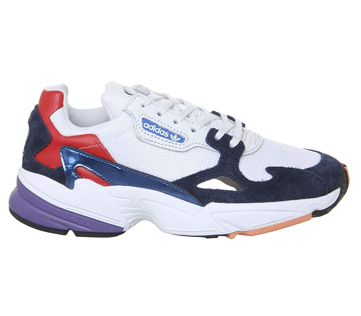 adidas Originals Falcon Shoes 7.5 B(M) US Women 6.5 D(M) US Crystal White Collegiate Navy Crystal White