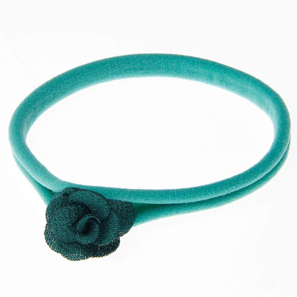 SCHOLIEBEN Kids Girl Baby Toddler Flower Headband Hair Band Accessories Headwear for Infant