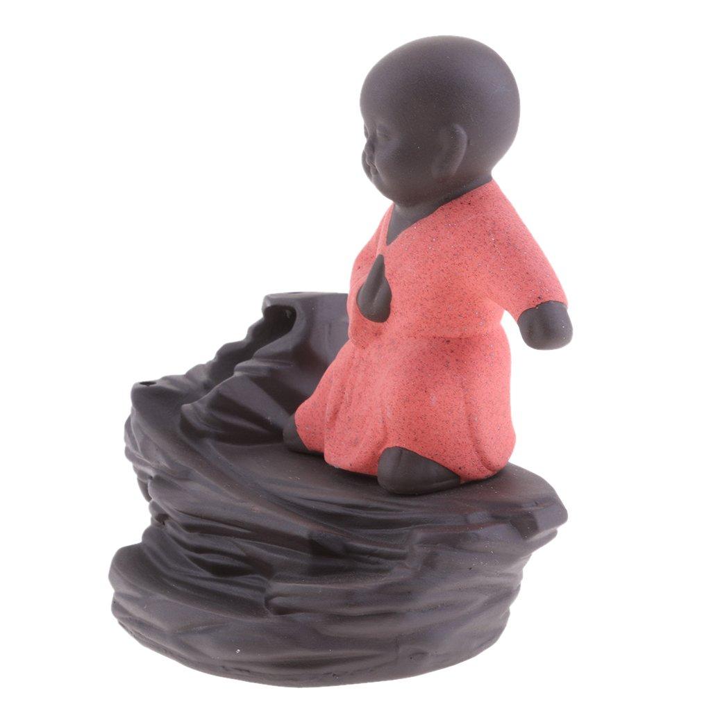 JiliオンラインクリエイティブホームDecor The 超人気 専門店 Little 公式サイト Monk Tathagata Buddha 11x7x11cm 96b804dd59b6789b9ce09875d285d232 B072MNN1Q5 Red Statue逆流香炉香炉