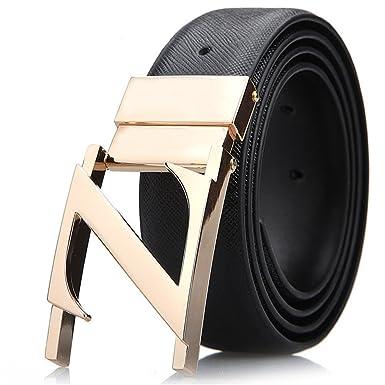 Belt Men\'s Leather Belt Dress Belt Best Gifts for Men Christmas ...