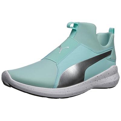 PUMA Women's Rebel Mid WNS Speckles Sneaker | Fashion Sneakers