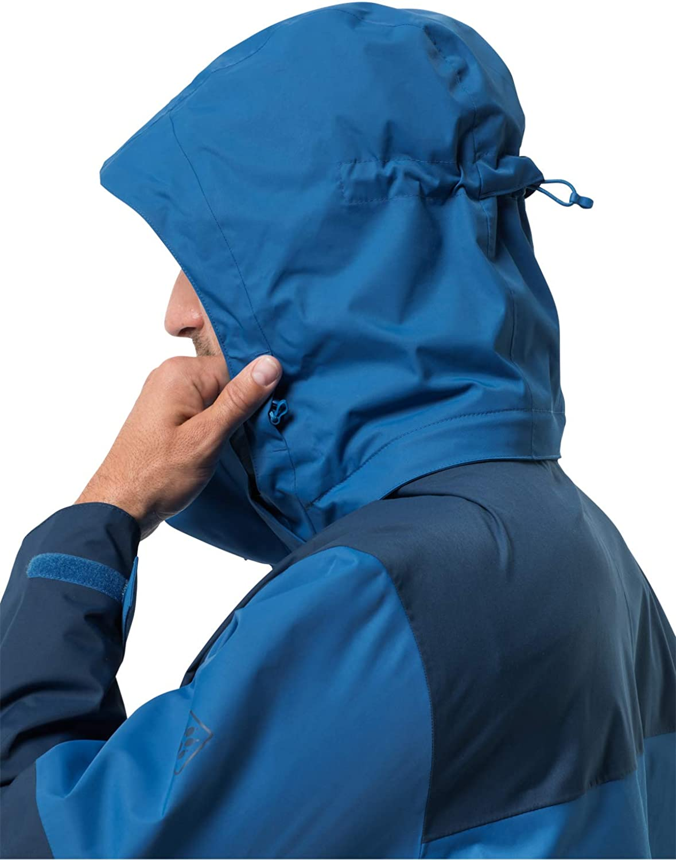Jack Wolfskin Womens Jasper Flex Weatherproof Jacket Electric Blue