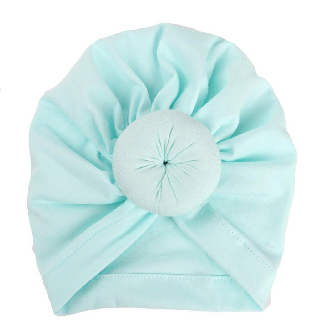 Fuibo Baby hut, Baby-Turban-Kleinkind scherzt Jungen-Mädchen-Indien-Hut reizenden weichen Hut| Kinder Kappe Fischerhut Schirmmütze Strohhut
