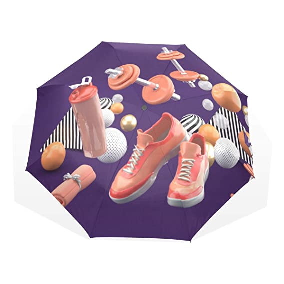 Paraguas Tamaño del Viaje Gimnasio Herramientas de Estilo de Vida ...