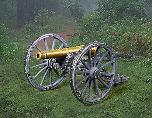 (The Collector's Showcase CS00904 Napoleonic British Royal Artillery Cannon 1:30 Scale Pewter )