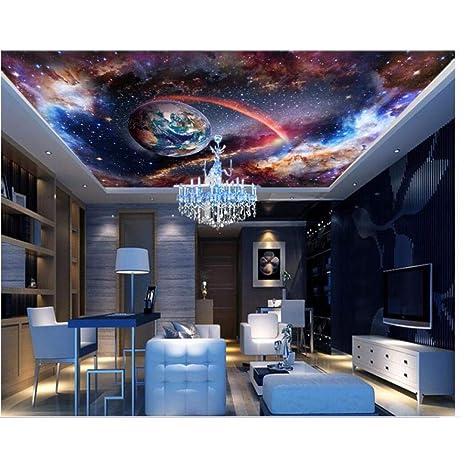 Amazon Com Pbldb 3d Bedroom Wallpaper Custom Photo Cosmic