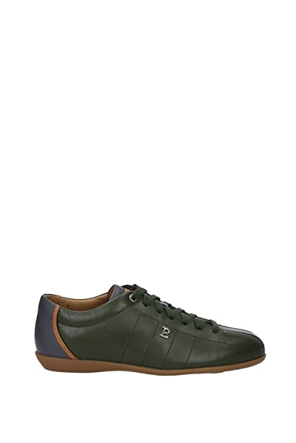 Slip on Sneakers for Men On Sale in Outlet, Blue, Leather, 2017, 5.5 Bally