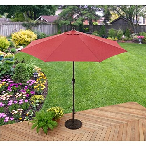 Better Homes & Gardens 9' Market Umbrella, Red