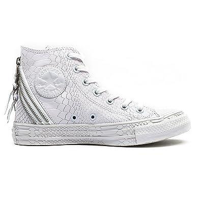 74342cb5deee6 Converse All Star Tri Zip Femme Baskets Mode Blanc  Amazon.fr ...