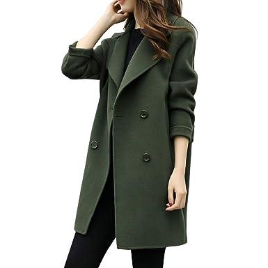 c68fb3ae429be1 Cramberdy Damen Winter Dicke Warm Mantel,Damen Winter Langarm Mantel,Outdoor  Coats,Damen Kuscheliger Langer Fleecemantel,Frauen Elegante Outwear,Outdoor  ...