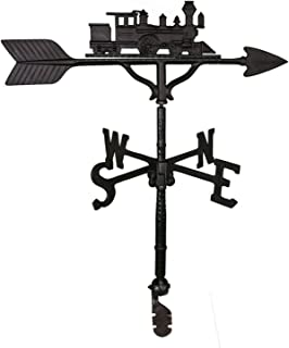product image for Train Weathervane Color: Black
