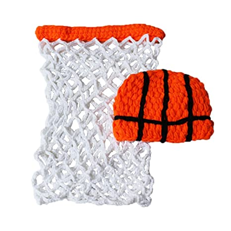 2pcs Baby Photography Prop Headband Hat Rompers Costume Crochet