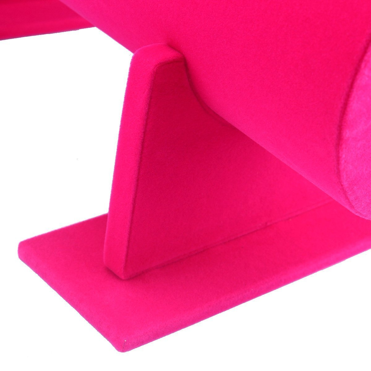 Funi Velvet Hairband Headband Holder Retail Shop Display Stand Rack Holder (14'', Pink) by Funi (Image #4)