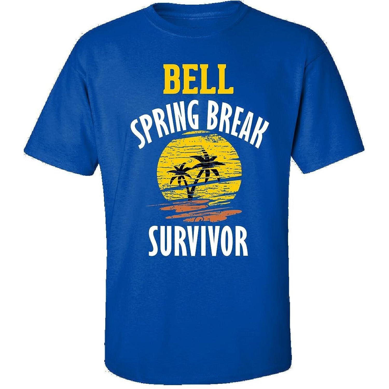 Bell Spring Break Survivor Party Beach Drinking - Adult Shirt