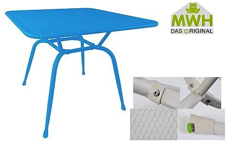 MWH-Tisch Conello 90x90x74cm Campanula Streckmetalltisch Gartentisch ...
