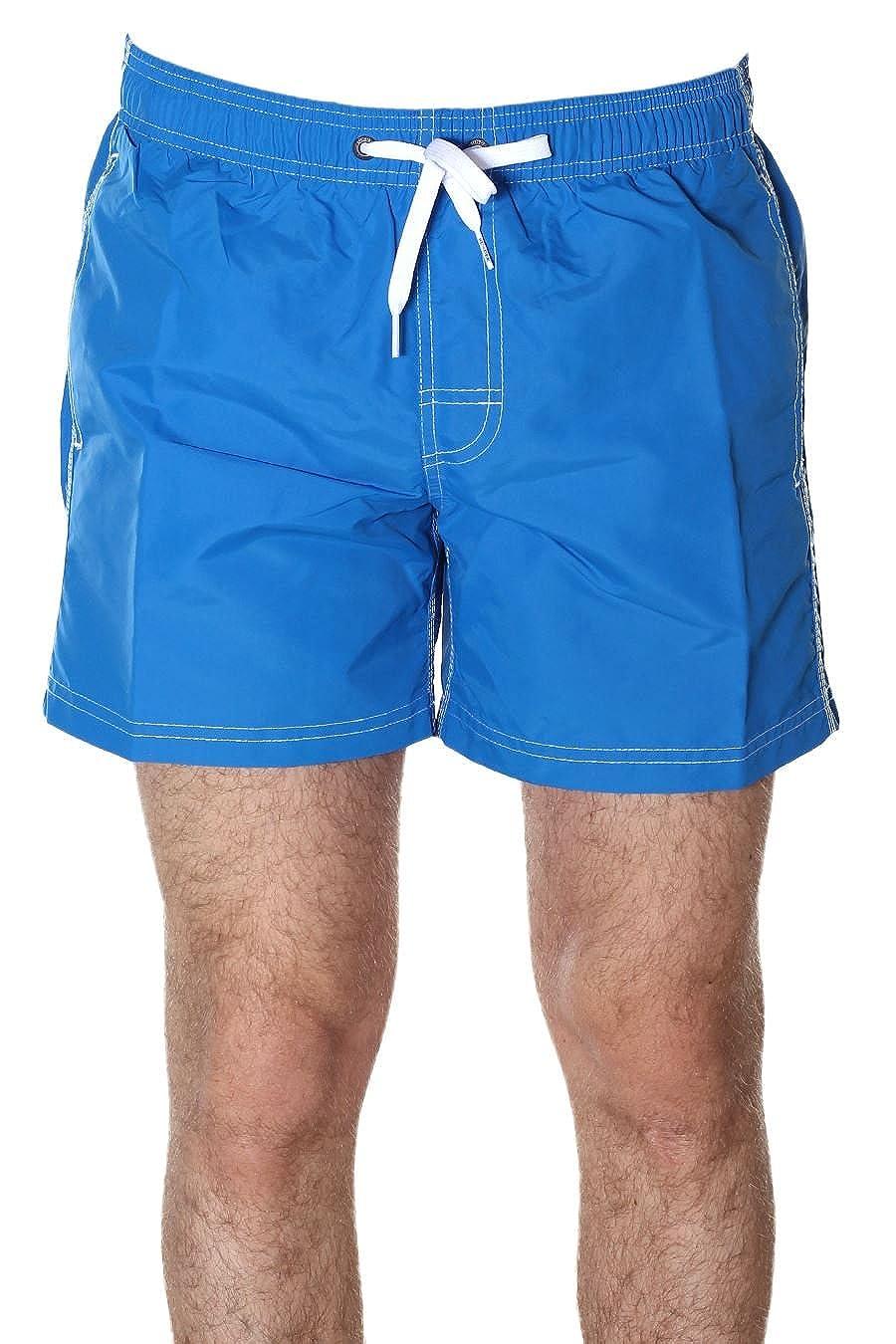 Ocean bleu vert blanc XXL SUNDEK courte Homme