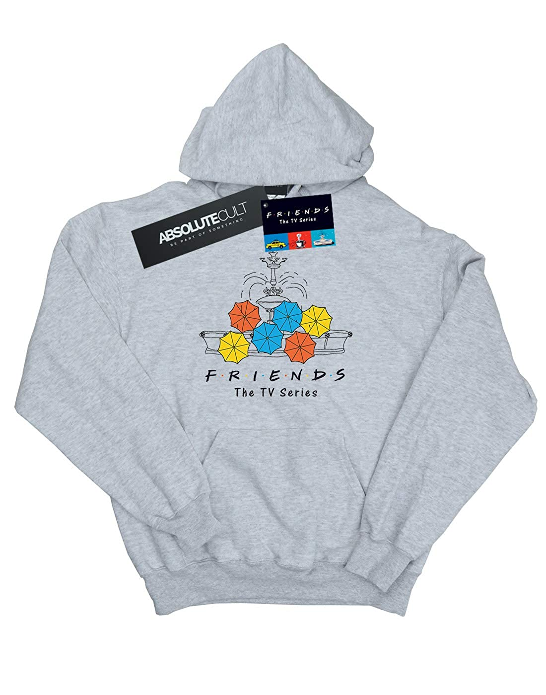 Absolute Cult Friends Girls Fountain and Umbrellas Hoodie