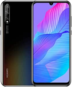 "HUAWEI P Smart S - 128 GB 6.3"" Smartphone with OLED Dewdrop Display, 48MP AI Triple Camera, in-Display Fingerprint, 4000 mAh Large Battery, 6 GB RAM, SIM-Free Android Mobile Phone, Dual SIM, Black"