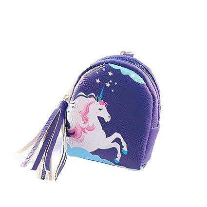 Monedero para niños con Cremallera, diseño de Unicornio ...
