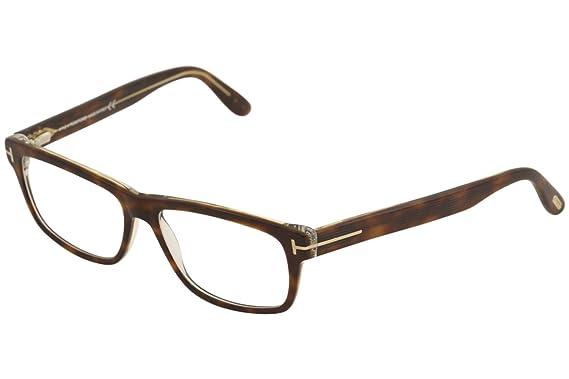 da400cd24cc8 TOM FORD Eyeglasses FT5320 053 Blonde Havana 56MM at Amazon Men s ...