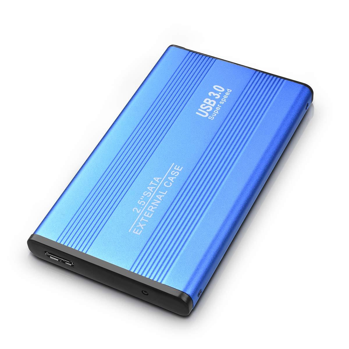 Maidix Disco Duro Externo 2tb USB 3.0 Disco Duro Externo para Mac Chromebook PC Xbox PS4,MacBook 2tb, Negro