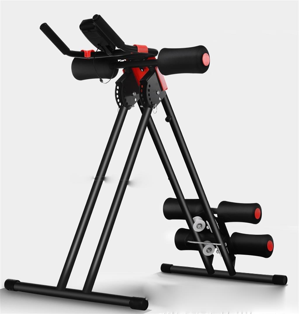 LMZZGAOYANQING Il nuovo roller coaster arrampicata forma fisica US macchina vita macchina addome addominale Jian