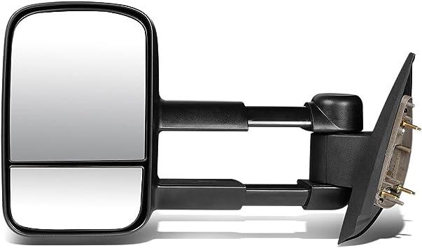 07-13 GMC Yukon//Chevy Tahoe DNA MOTORING TWM-003-T222-BK-R Manual Tow Mirror Right
