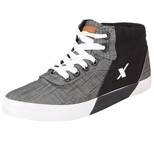 bbdc5d12 Sparx Men's Canvas High Ankle Sneakers: Buy Online at Low Prices in ...
