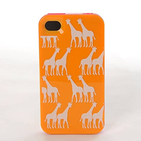 Kate Spade Estampado Jirafas Para iPhone 4 4S Funda Carcasa ...