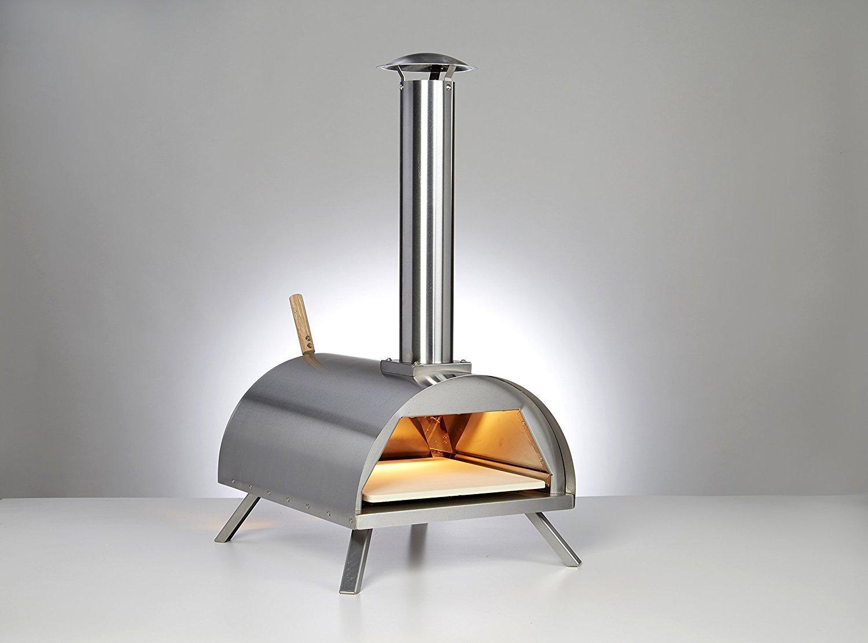 Amazon.com: WPPO, Wppokit1 - Horno de pizza para madera ...