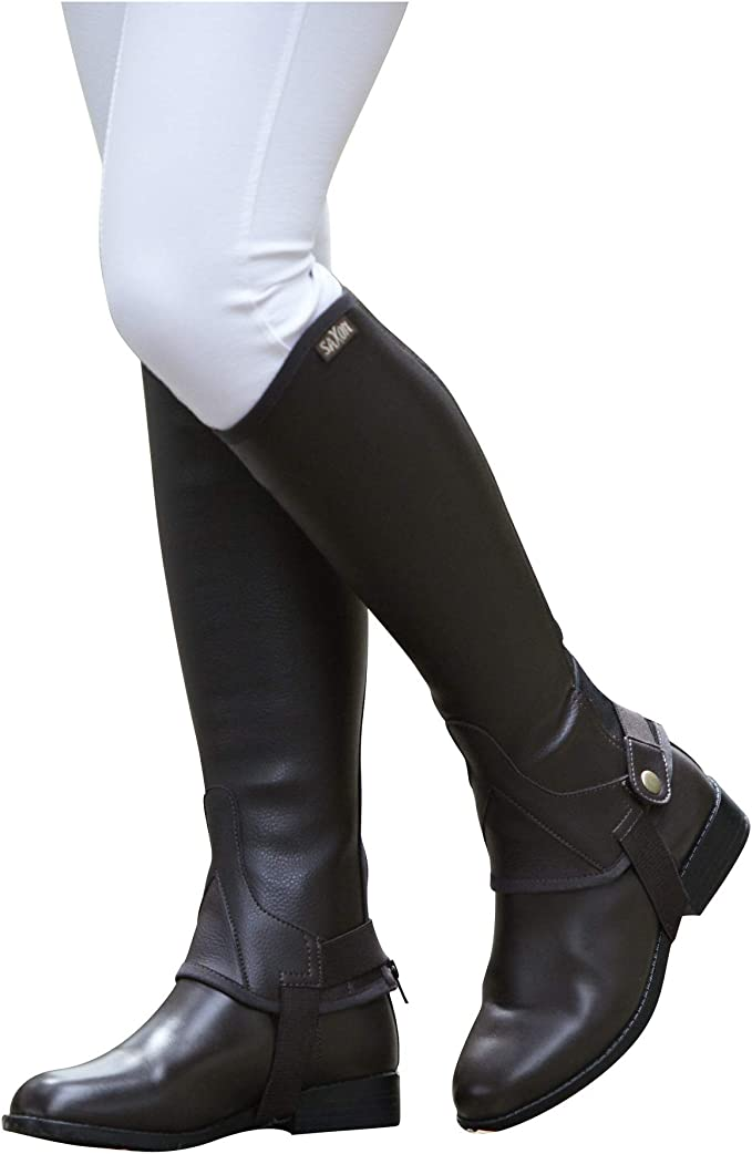 Dublin Childrens//Kids Stretch Fit Half Chaps