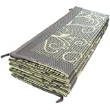 Reversible Mats Outdoor Patio / RV Camping Mat - 8' x 11'