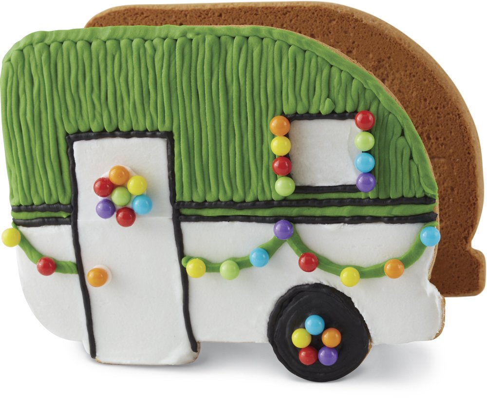 Gingerbread Camper Decorating Kit