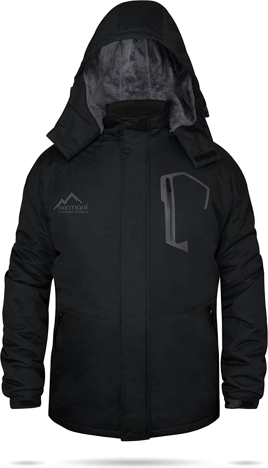 Winterjacke Softshelljacke Yukon-Edition Schwarz [S-3XL]: Amazon.de: Sport  & Freizeit