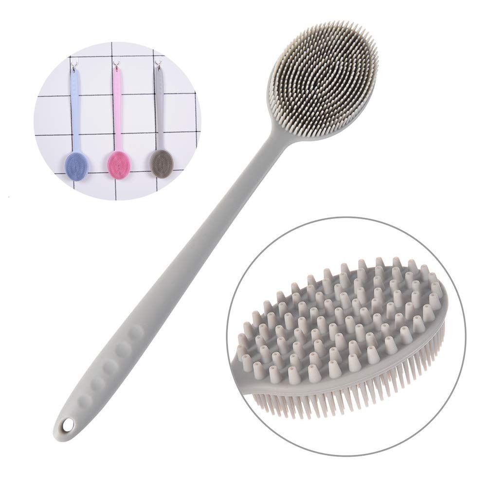 Ahojshop Silicone Bath Body Brush