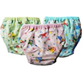 Crack4Deal Medium Size Multicolour Diapers Pants Worn Over Diapers For 3-9 Months Babies (Pack Of 3)