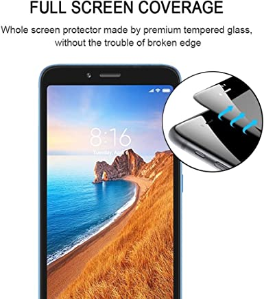 Dongdexiu Mobile Phone Accessories 25 PCS AG Matte Anti Blue Light Full Cover Tempered Glass for Xiaomi Redmi 7 Tempered Glass Film