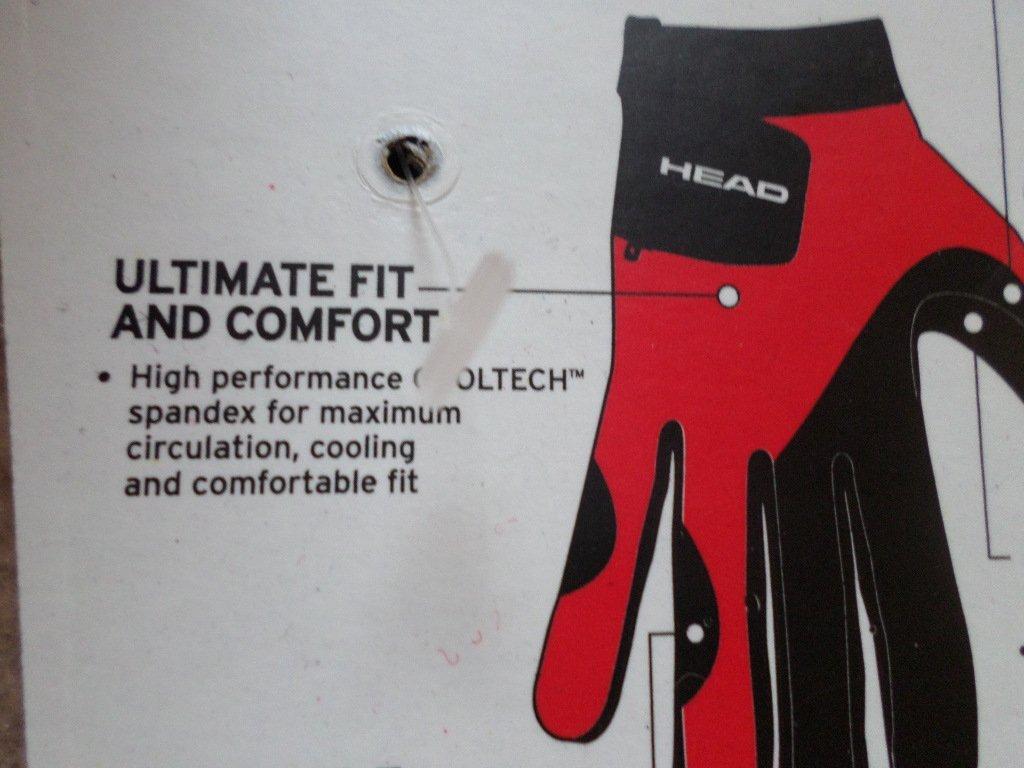 SIX 6 Right hand, Head Web Racquetball Gloves Medium