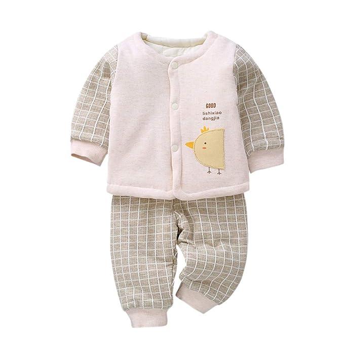 KINDOYO Conjuntos de Ropa para Recién Nacido Niño Niña - Bebé Otoño ...