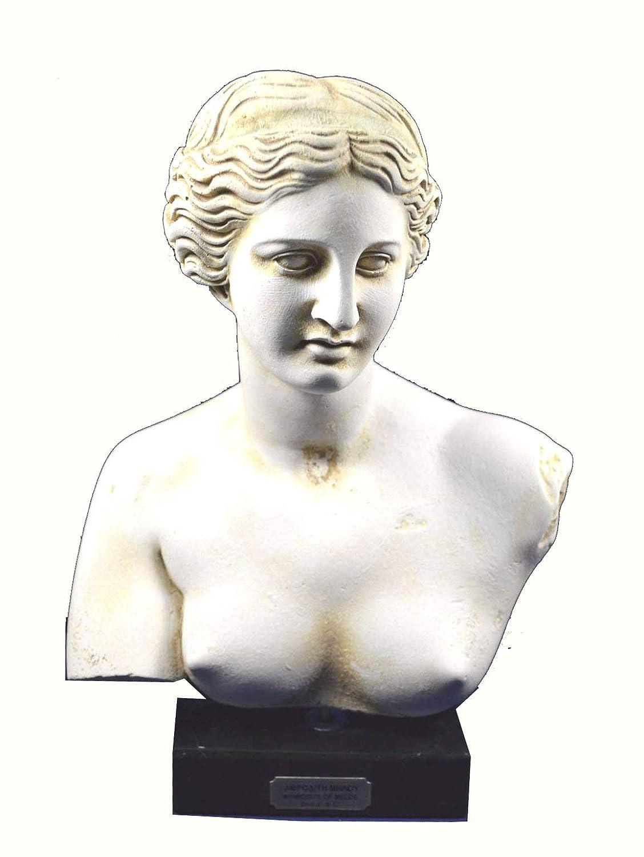 Aphrodite sculpture bust Venus Goddess of love great statue artifact Estia Creations