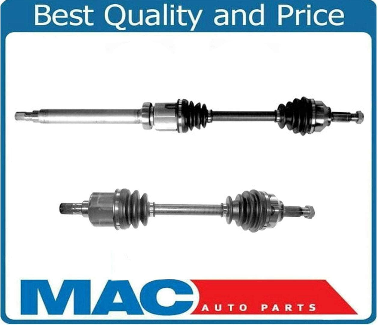 Bodeman Front RIGHT//Passenger Side CV Axle Drive Shaft Assembly Fits 2002 2003 2004 Ford Focus SVT 6 Speed MANUAL Transmission