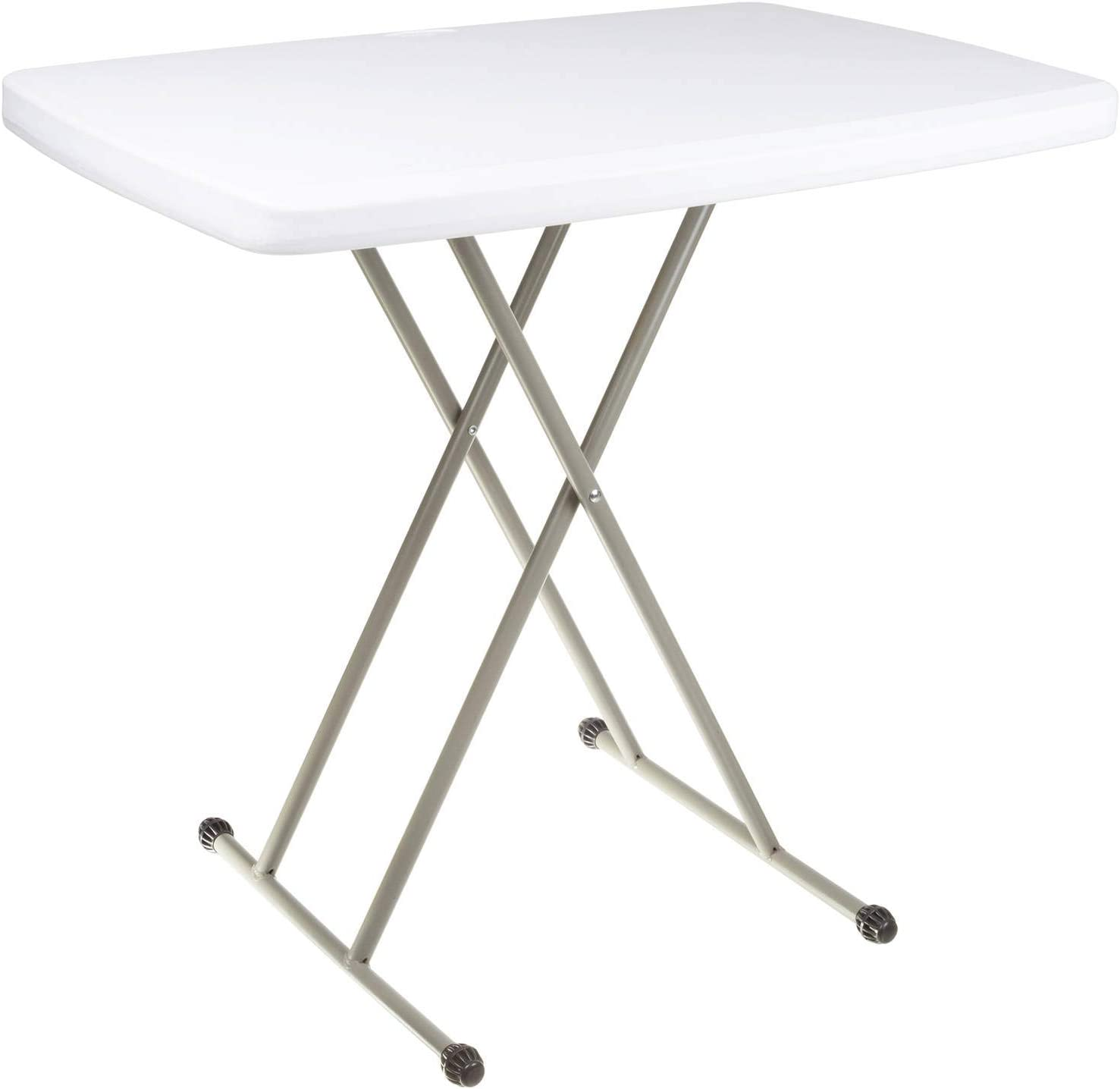 Everyday Home Folding Table, Foldable Table and TV Tray, 30 x 20 x 28 (Great for Laptops) 4 Pack