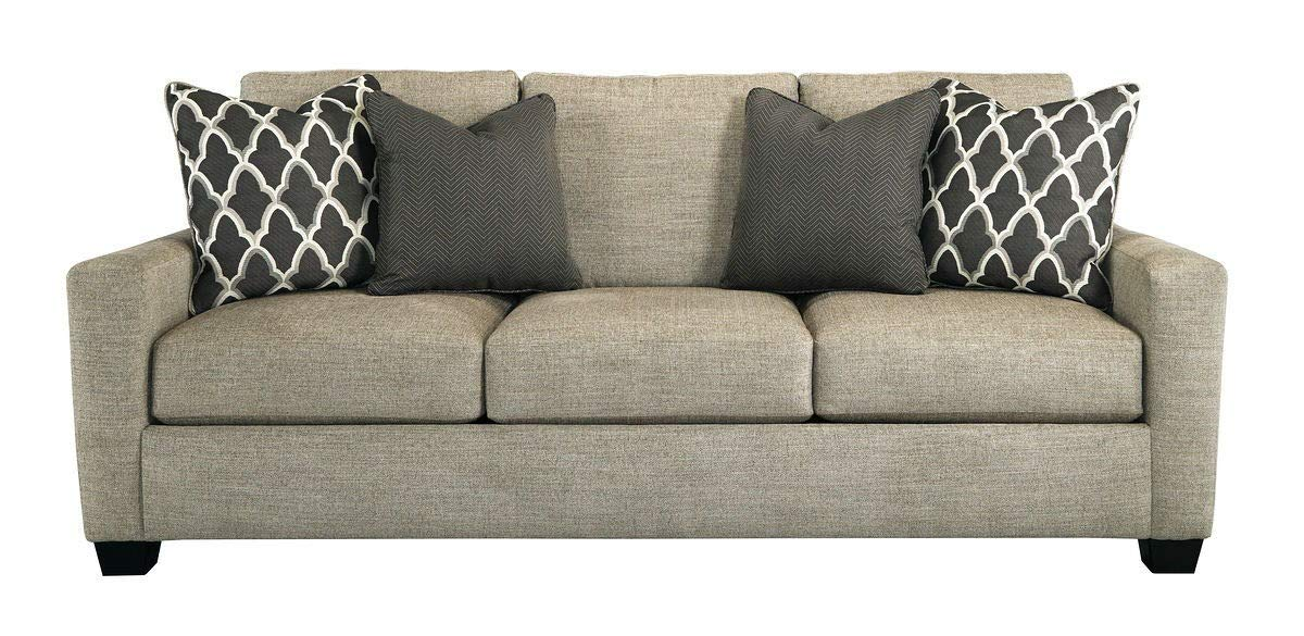 Superb Amazon Com Ashley Crislyn Stone Sofa Kitchen Dining Pdpeps Interior Chair Design Pdpepsorg