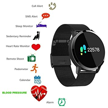 TKSTAR Montre Intelligente Bluetooth Smartwtach Sport Smart Bracelet connectée Etanche Fitness Trackers dactivité pour
