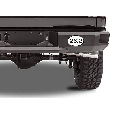 "Track Sport Oval car window bumper sticker decal 5/"" x 3/"""