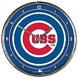 "MLB  Chrome Clock, 12"" x 12"""
