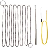 Fish Ball Chain & Retriever Telescoping Hook (Wet Noodle) and Storage Case