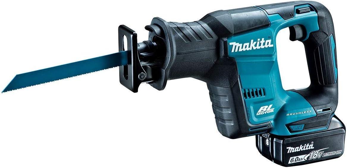 マキタ レシプロソー充電式18V JR188DRG 6Ahバッテリ・充電器・ケース付