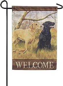 Carson Home Accents 49251 Classic Garden Outdoor Flag, Multicolor
