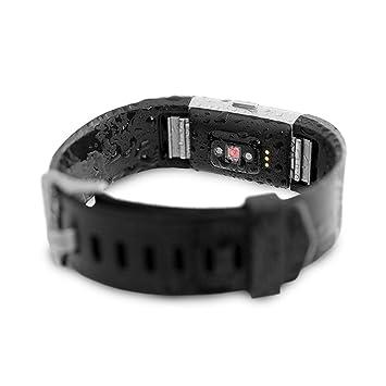Amazon com: Waterfi Waterproof Fitbit Charge 2 - Silver